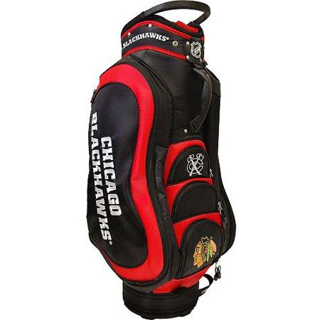 Team Golf Nhl Chicago Blackhawks Medalist Cart Bag