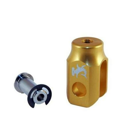 Hammerhead Designs 02-0450-25-50 Brake Clevis for Hammerhead Rear Brake Lever Kits - Gold ()