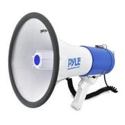 PYLE PMP50 - Megaphone Speaker - PA Bullhorn with Siren Alarm Mode & Adjustable Volume Control
