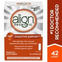 Align Probiotic Daily Digestive Health Supplement Capsules, 42 Ct