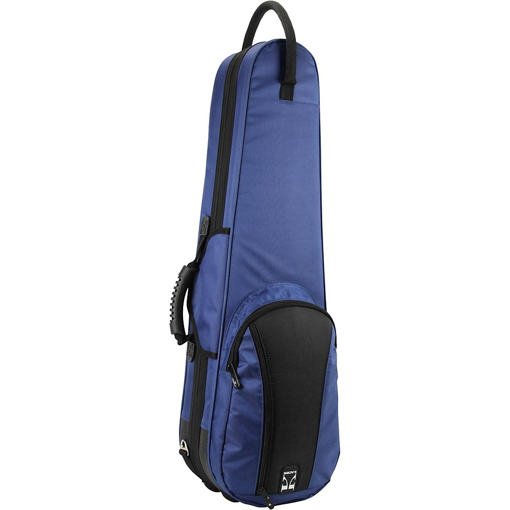 Kaces Duet Color Series Full Size Violin Polyfoam Case 4/4 Size Blue