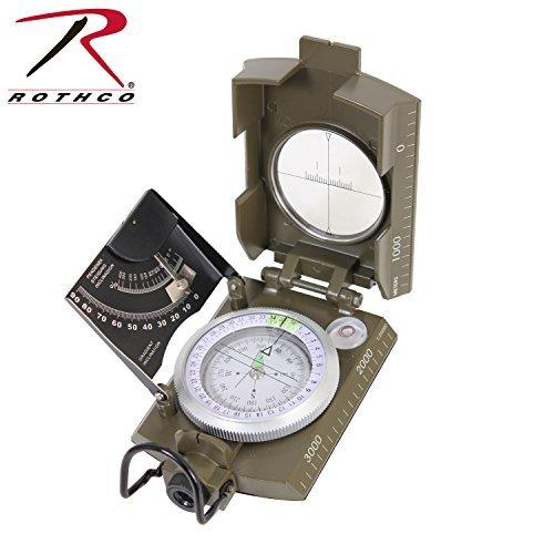 Rothco Deluxe Olive Drab Marching Compass
