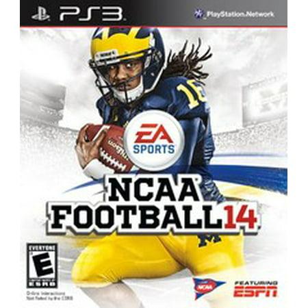 NCAA Football 14 - Playstation 3 (Refurbished) (Wwe 14 Ps3)