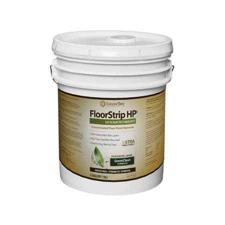 FloorStrip HP Floor Finish Stripper, Heavy Duty High Performance, Low Odor (5 GAL - Prof Grade)