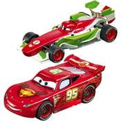 Carrera First Disney Pixar Cars 3 Slot Car Race Track Walmart