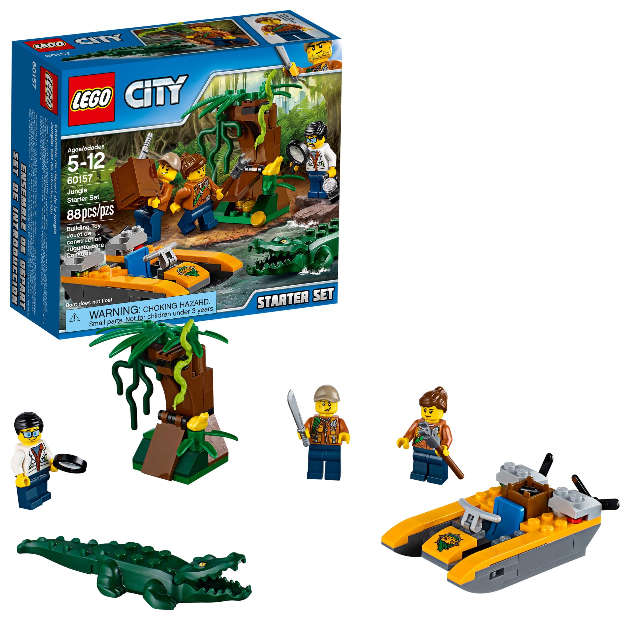 LEGO 60157 City Jungle Starter Set Building Toy #60157