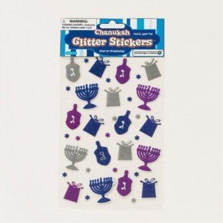 Rite Lite TY-14345 Chanukah Glitter - Chanukah Stickers