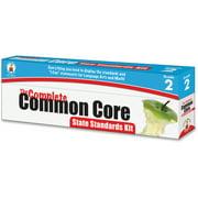 Carson-Dellosa Publishing Common Core State Standard Pocket Chart Cards, Language Arts & Math, Grade 2