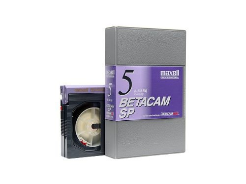Maxell Betacam SP, 10 Pack, 5 Minutes, 294413 by Maxell