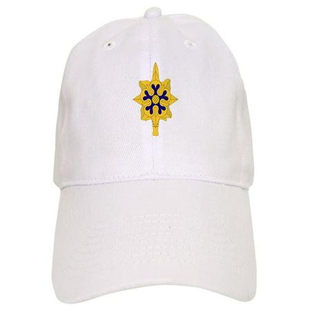 CafePress - Military Intelligence Insignia Baseball - Printed Adjustable Baseball Cap Insignia Baseball Cap