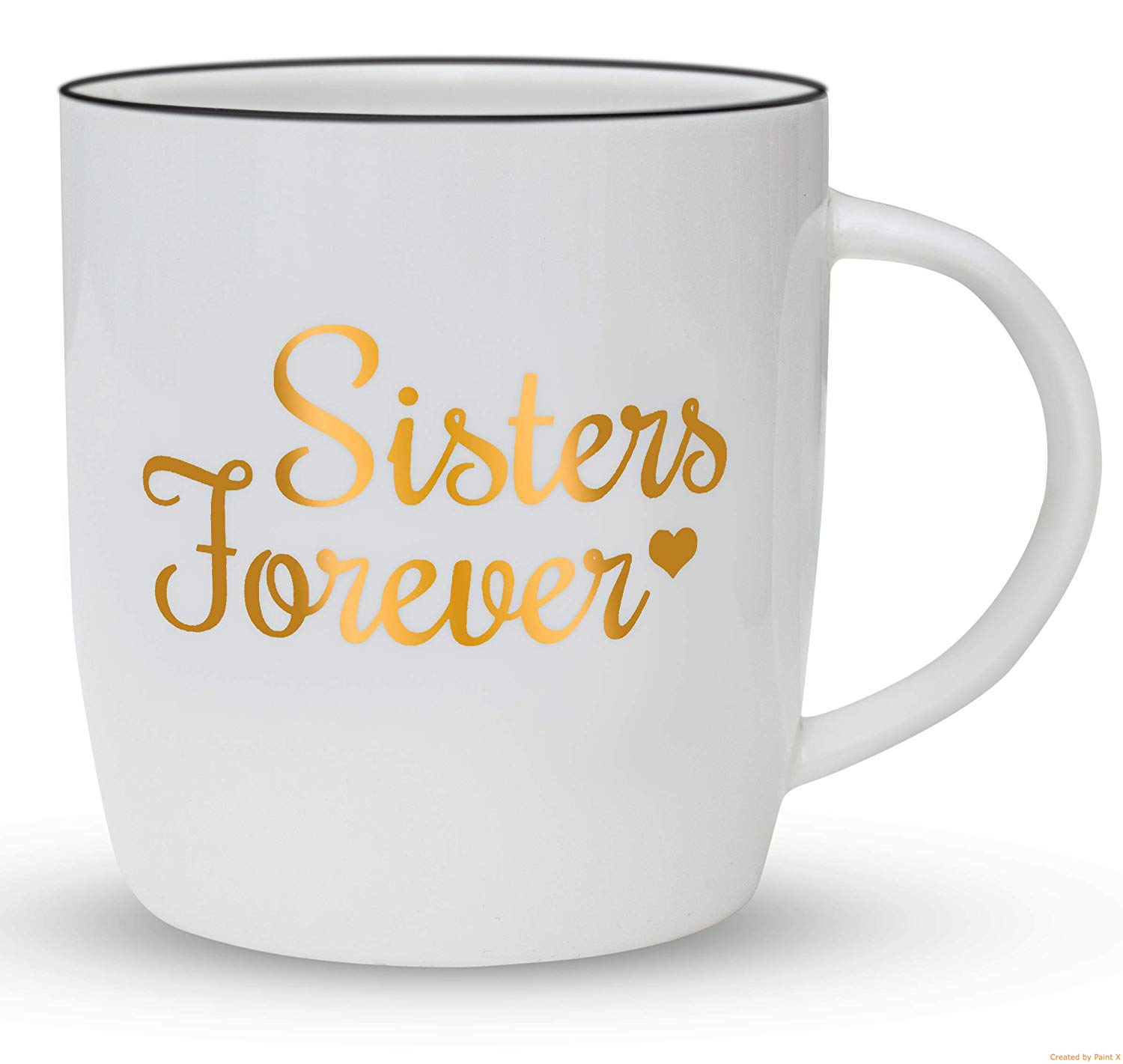 Gifffted Sister Mug Birthday Gift For Sister From Sister Sisters