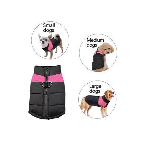 Pet Winter Warm Clothes Gits for Small / Medium / Large Dogs, Cold Weather Warm Vest Jacket Coats for Dogs,...