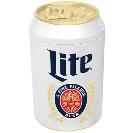 Mini Miller Lite 8 Can Thermoelectric Beverage Cooler ()