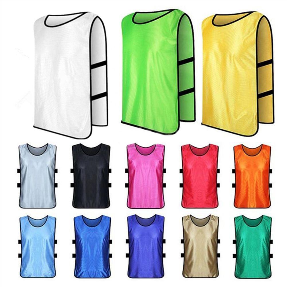 Newpee Kids Adult Training Sports Soccer Football Basketball Vest Shirt Team Uniform