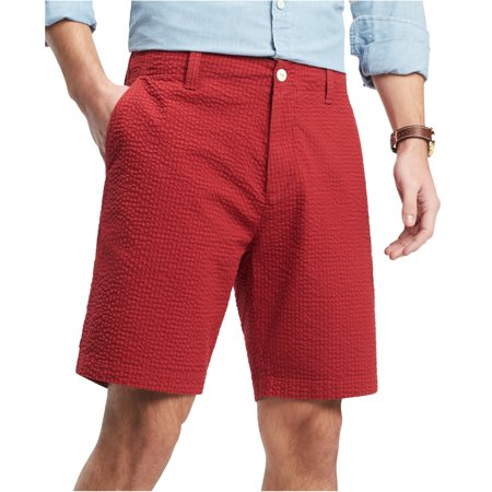 Tommy Hilfiger Mens Jerry Gingham Casual Chino Shorts