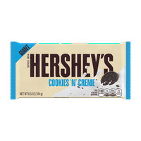 Hershey's, Giant Cookies 'N' Creme Candy Bar, 6.5 Oz.