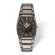 FB Jewels LogoArt Florida State University Executive Black-plated Watch