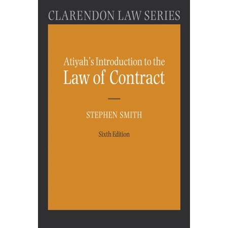 Atiyah's Introduction to the Law of Contract -