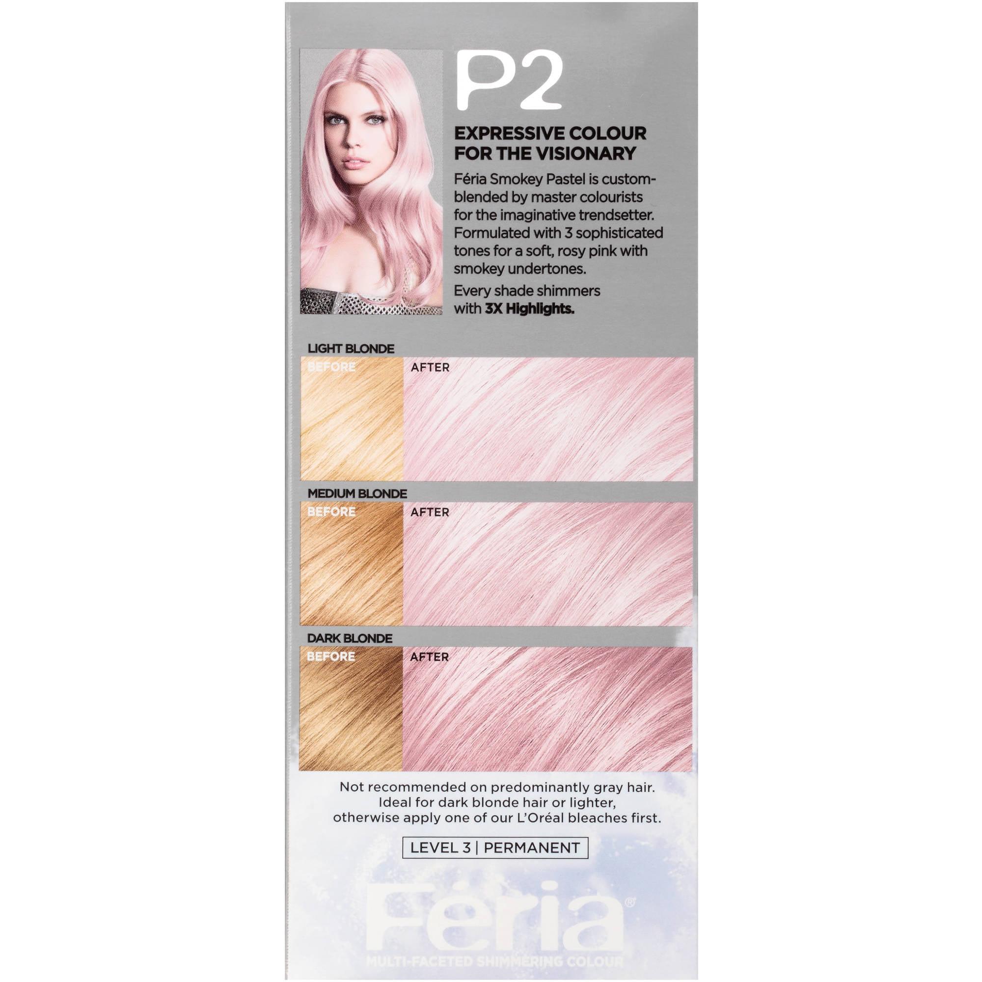 Feria Hair Dye Smokey Pastel Best Hair Color 2017