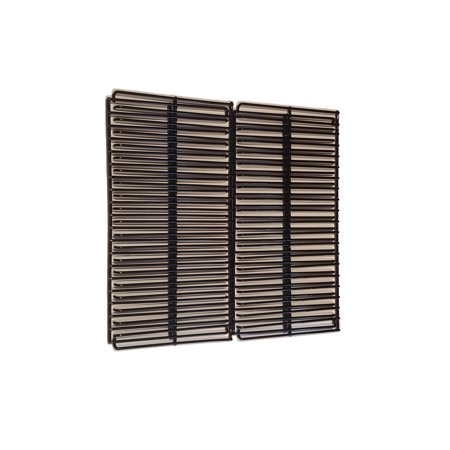 Set of Two Porcelain Coated Cookings grids for Char-Broil Commercial 463268606 463268007 Gas Barbecue Grill