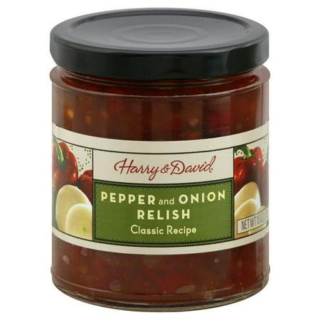 Harry & David Pepper & Onion Relish, 10 Oz