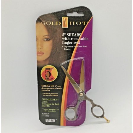 "Gold N Hot 5"" Shears Japanese Stainless Steel Blades"