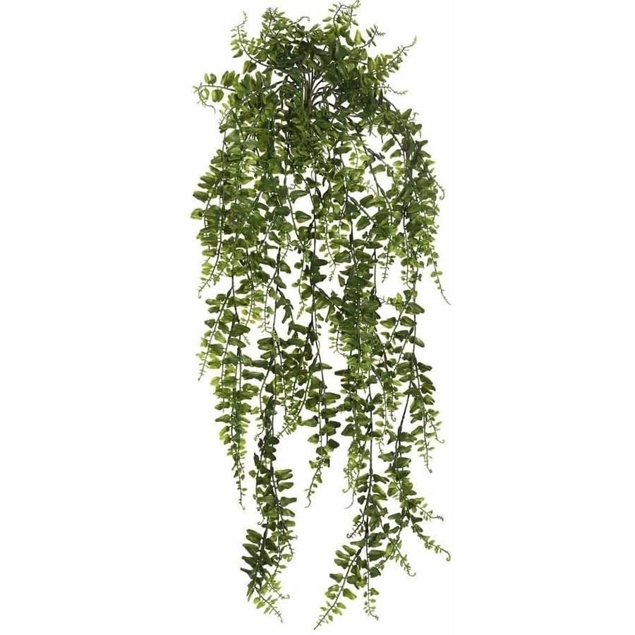 "Vickerman 30"" Artificial Green Buckler Fern Vine"