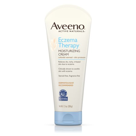 Aveeno Eczema Therapy Moisturizing Cream For Sensitive Skin  7 3 Oz