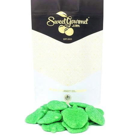 Sour Green Apples Gummi Candy bulk 14oz bag for $<!---->