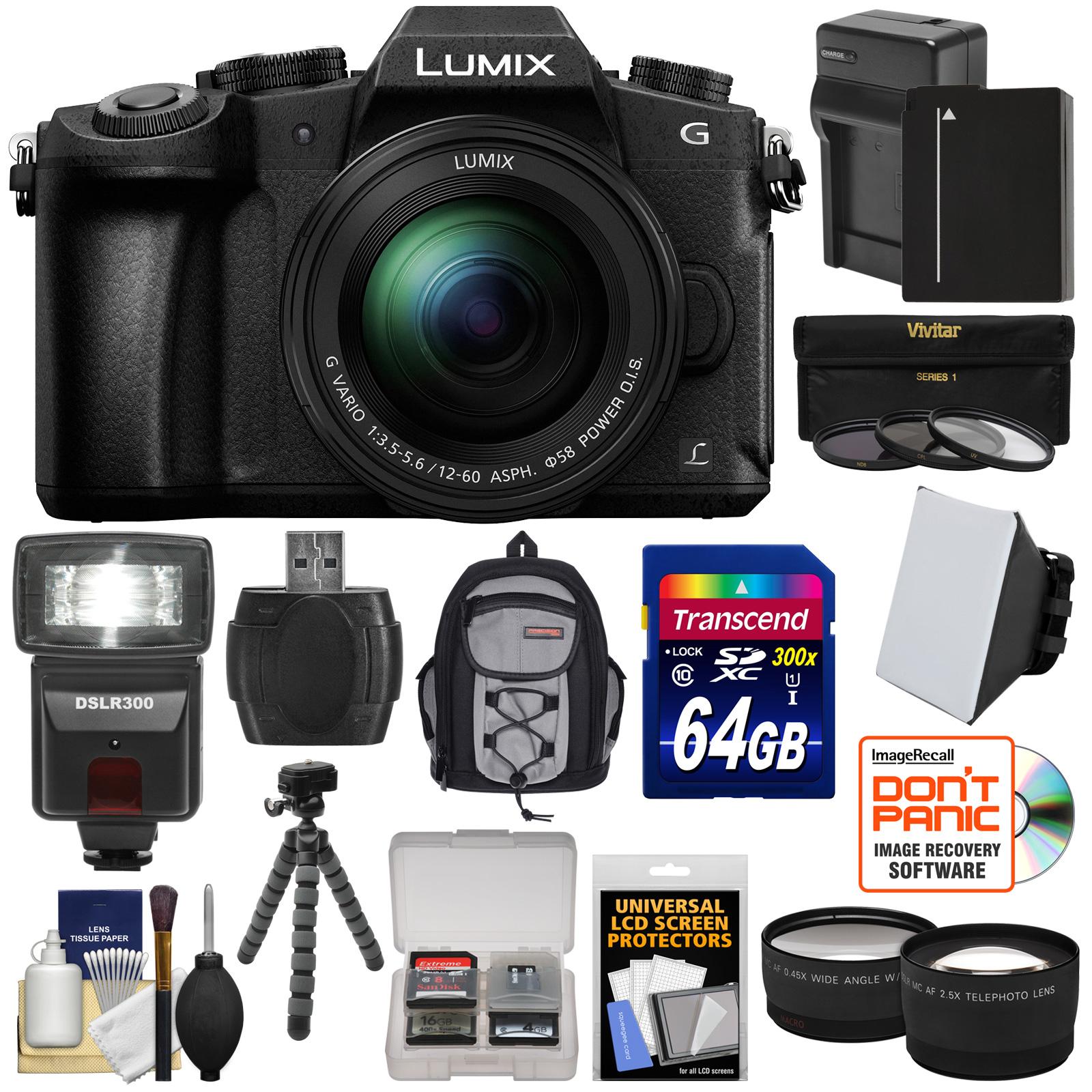 Panasonic Lumix Dmc G85 4k Wi Fi Digital Camera Amp 12 60mm