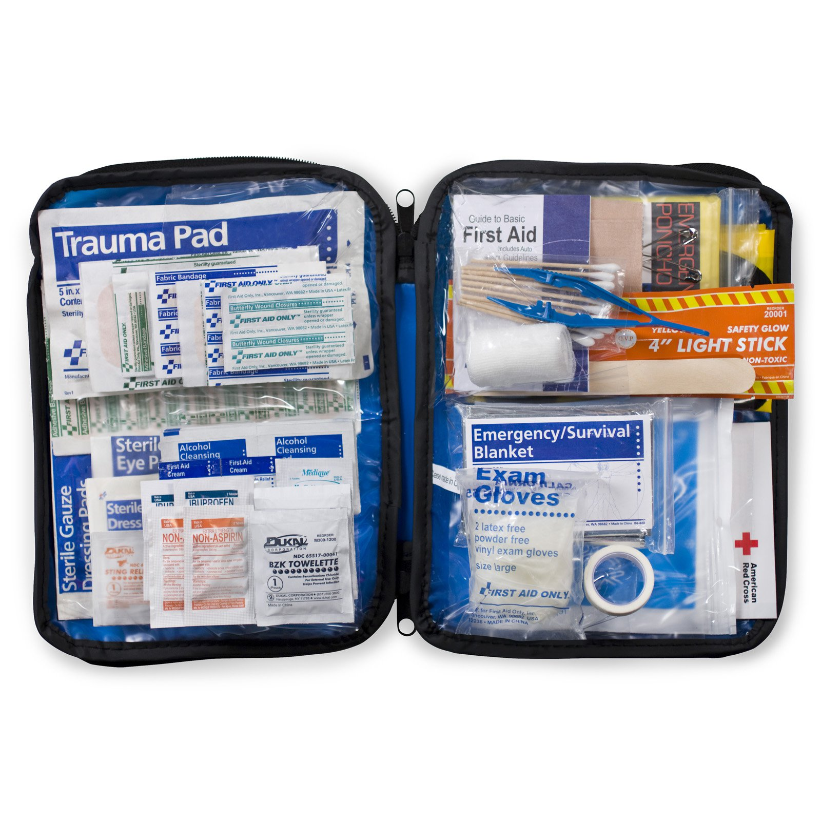 First Aid Only Soft Pack Auto First Aid Kit - 143 Pieces
