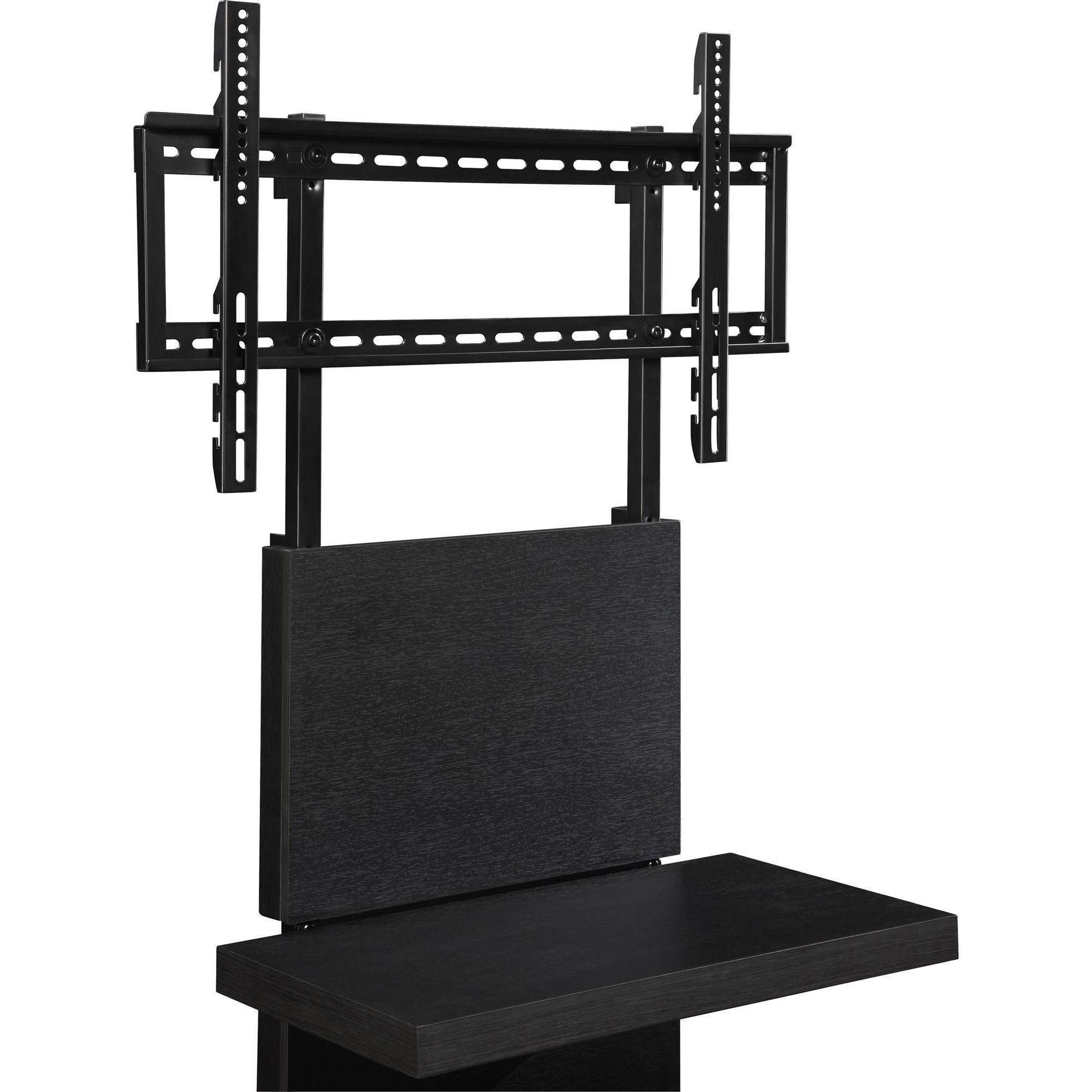 pedestal bottomleft stand shipping free front mount black base screen flat in blank universal tvs for wall us tv htm