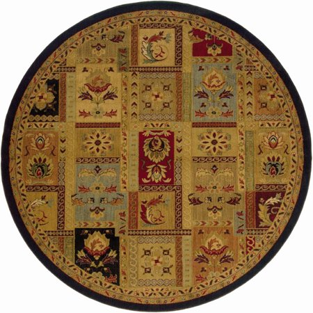- Sphinx Infinity Area Rugs - 1137B Traditional Oriental Beige Persian Panel Leaves Flowers Rug 7' 8