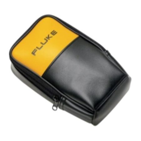 - Fluke Networks C25 Large Soft Case For Digital Multimeters - Top-loading - Black, Yellow (681114)