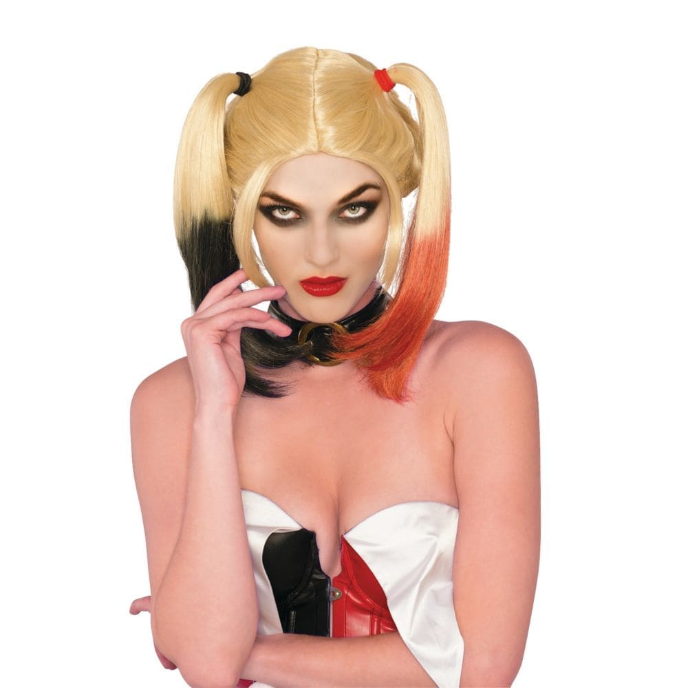 Suicide Squad: Harley Quinn Adult Wig Halloween Accessory, One Size