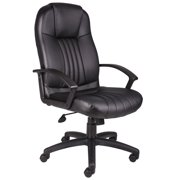 Boss Office & Home Black High Back Executive Chair