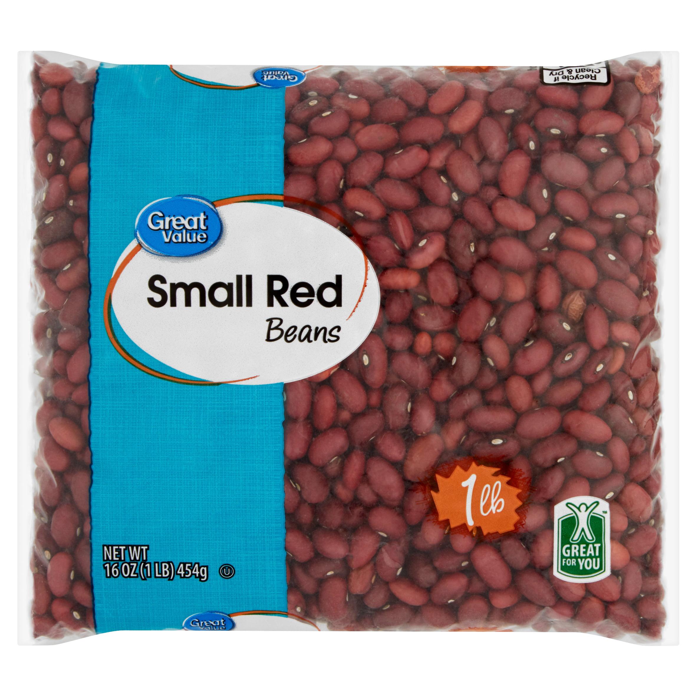 Great Value Small Red Beans 16 Oz Walmart Com Walmart Com