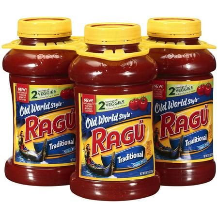 Product of Ragu Traditional Spaghetti Sauce, 3 ct./45 oz. [Biz Discount]