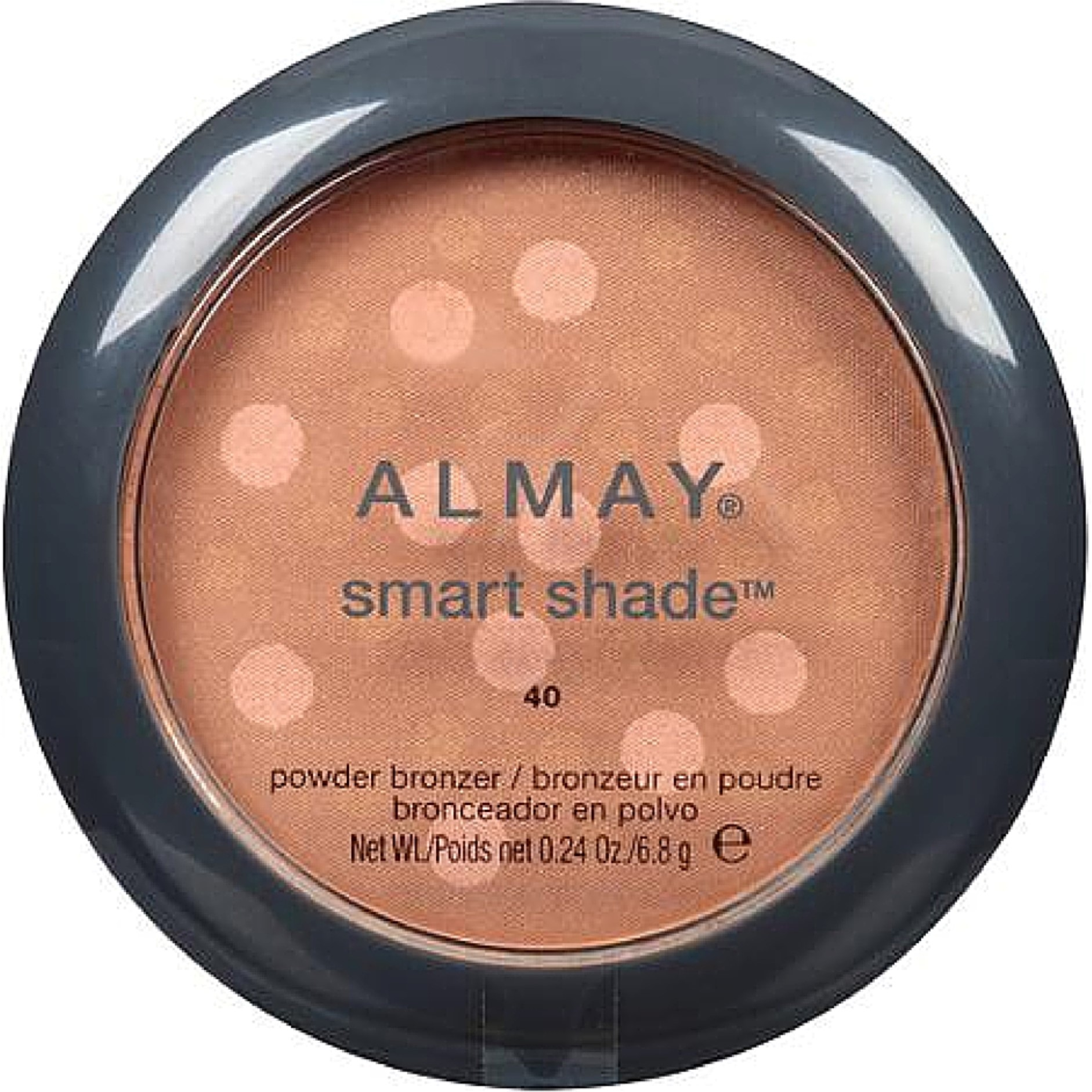 Almay Smart Shade Powder Bronzer, Sunkissed [40] 0.24 oz (Pack of 3)