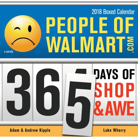 People Of Walmart Desk Calendar  2018 2015 Humor By Sourcebooks