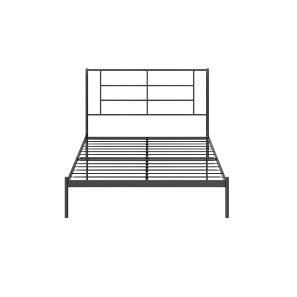 Queer Eye Jensen Modern Metal Bed, Multiple Options Available
