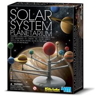 Solar System Planetarium, The Solar System Planetarium set teaches children about the wonders of the solar system. Just assemble, paint and learn. By 4M