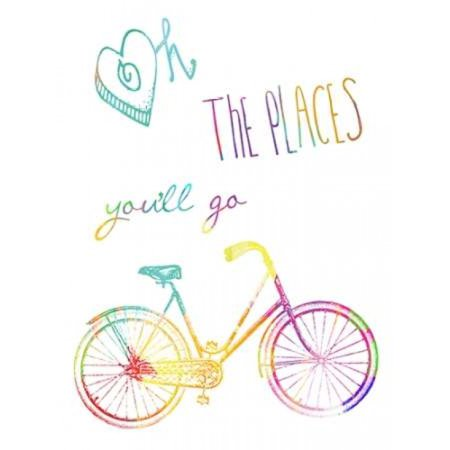 Oh The Places Youll Go Poster Print by Sheldon Lewis - The Places Youll Go