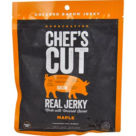 Chef's Cut Real Jerky® Bacon Maple -- 2 oz pack of 1 - Bacon Maple Cupcakes
