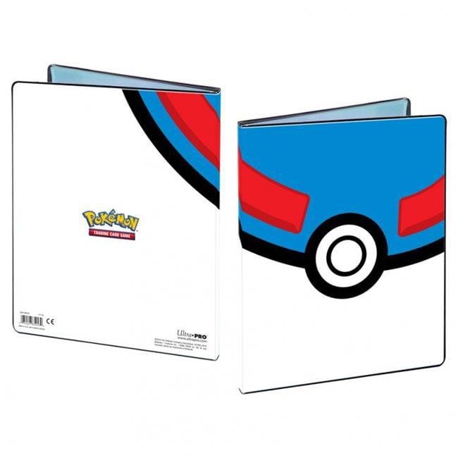 Ultra Pro ULP85452-P Binder 4 Pocket Portfolio Pokemon