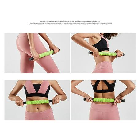Muscle Roller Leg Massage Stick Deep Tissue Hamstring Cramps Fitness Massager Yoga Supplies - image 2 of 6