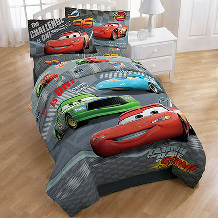 disney cars challenge bedding comforter full