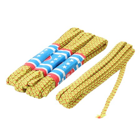 Apartment Fabric Trousers Garments Sewing Stretchy Elastic String Yellow 4pcs