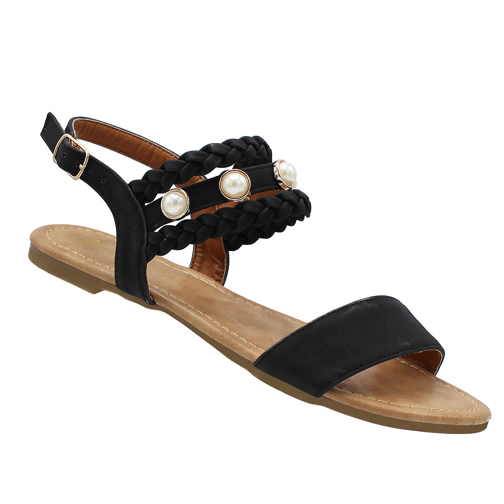 Devin-65 Women Slides Sandals Slippers slip Pool Slides Black 9
