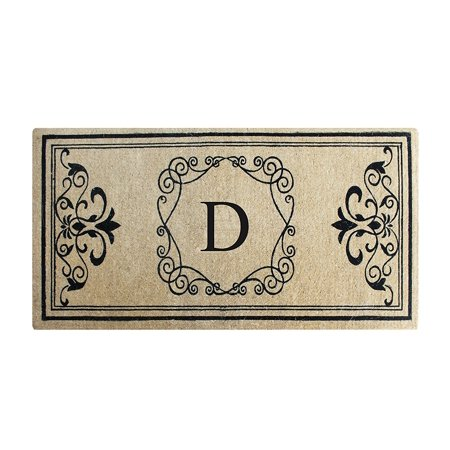 A1HC First Impression Hayley Monogrammed Entry Double Doormat - 24